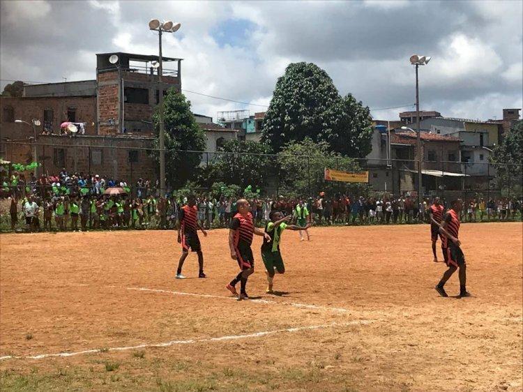 Meninos do Pela e Joga Fácil fazem a final do Campeonato de Paripe 2019.