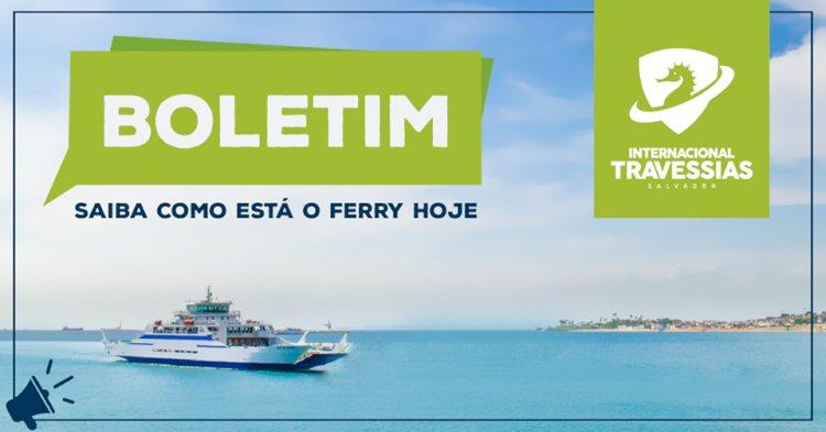 Espera no Ferry Boat dura até 3 horas, em embarque de veículos