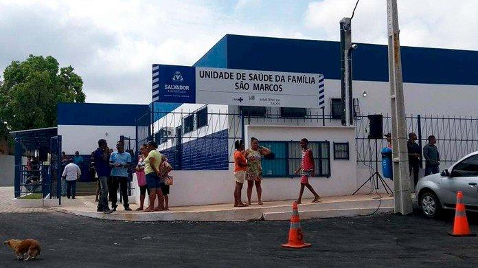 Às vésperas do Natal e Réveillon, a USF de São Marcos é roubada.