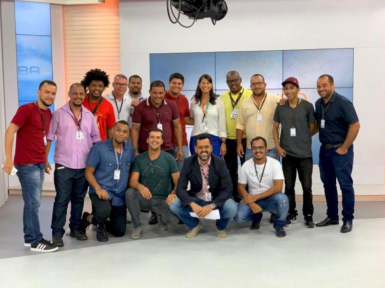 Representantes das mídias de bairro em Salvador