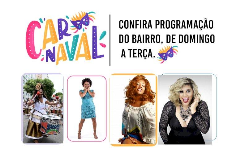 Confira programação do Carnaval de Pau da lima, de Domingo a Terça.