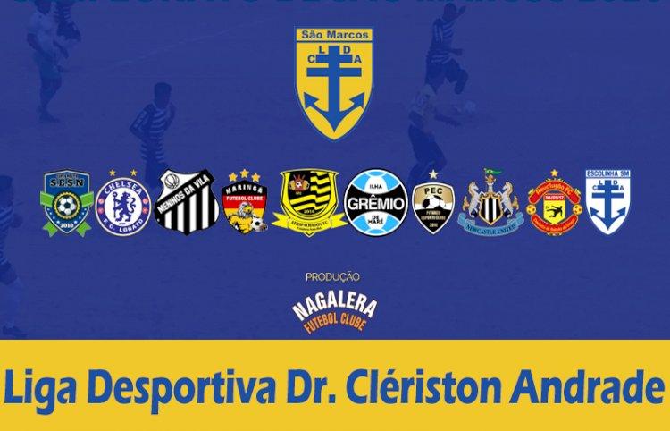 Campeonato de futebol de São Marcos começará em Abril deste ano.