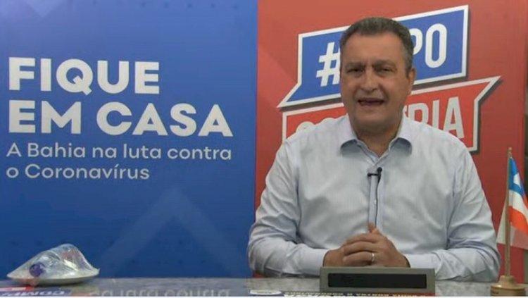 Rui Costa anuncia que Bahia não terá festejos de São João e prorroga suspensão de aulas: 'Não teremos festa junina'