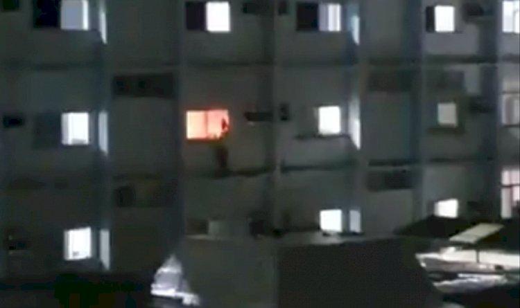 Agora! Paciente do Hospital Espanhol bota fogo em enfermaria e pula a janela.