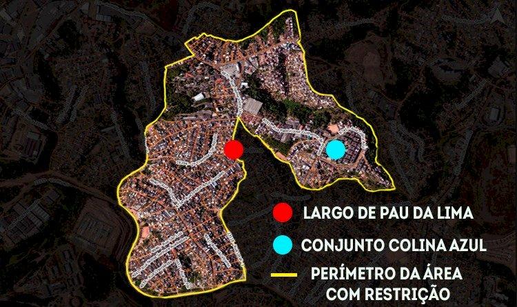 Espaço Axé é o local escolhido para ações das medidas restritivas em Pau da Lima.