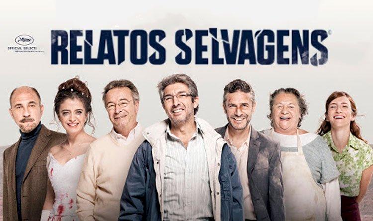 Relatos selvagens - Filme argentino que reúne histórias de vingança vividas por personagens fora do controle.