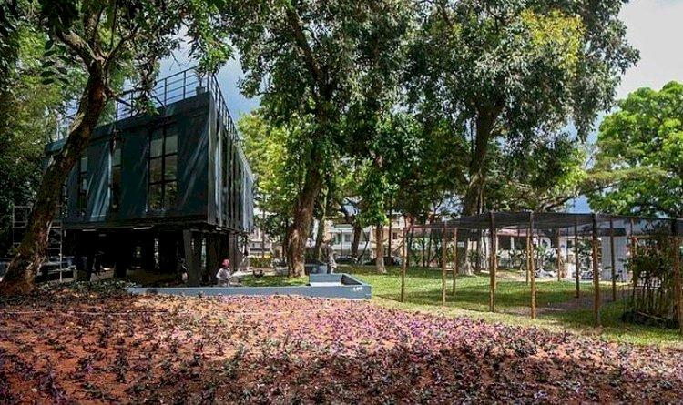 Requalificação do Jardim Botânico, em São Marcos, foi entregue nesta quinta-feira (12).