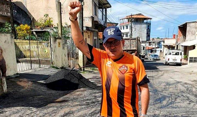 Portal Pau da Lima entrevista o candidato eleito a vereador de Salvador Anderson Ninho.
