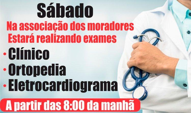 Feirão da Saúde em São Marcos neste sábado, 29.
