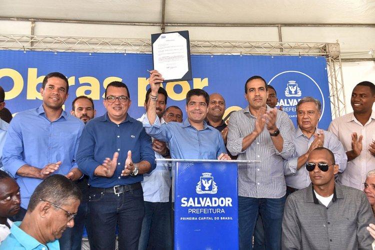 #Paudalimanamidia    Menos trânsito: Pau da Lima terá nova avenida de R$ 9 mi em 2020.