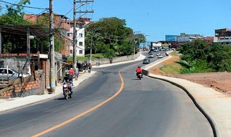 Prefeitura de Salvador entrega 2° etapa da requalificação da Avenida Aliomar Baleeiro.
