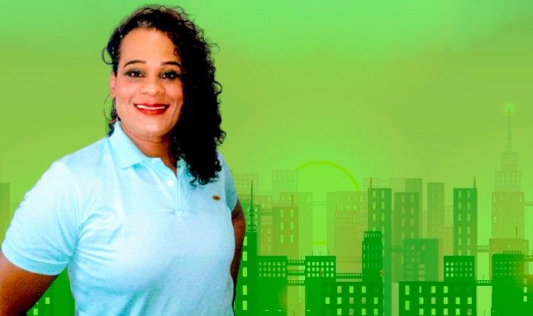 Portal Pau da Lima entrevista a candidata a vereadora Keitty Brasil.