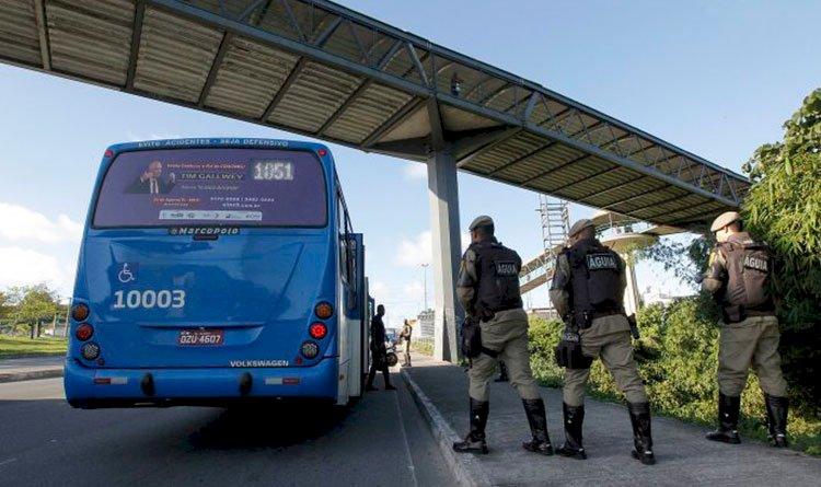 Câmeras com reconhecimento facial irão reforçar o combate a assaltos a ônibus na Bahia.